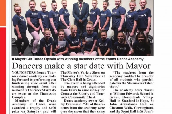 Starmakers Talent Show and The Mayors Variety Show 2017